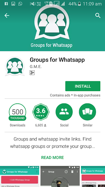 Whatsapp For Group App Playstore