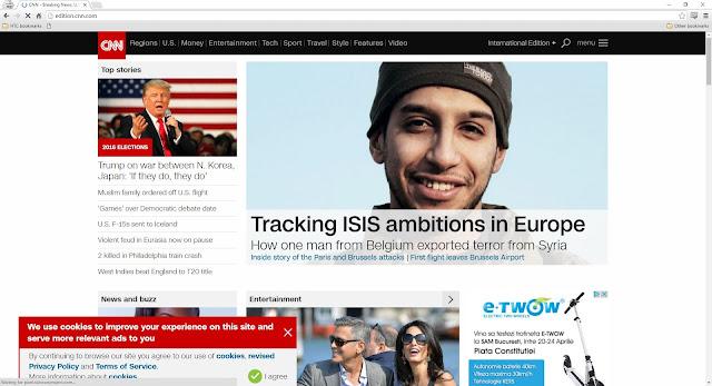 Prima pagina CNN la 10 ore dupa Panama Papers