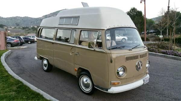 used rvs 1968 vw hi top camper for sale by owner. Black Bedroom Furniture Sets. Home Design Ideas
