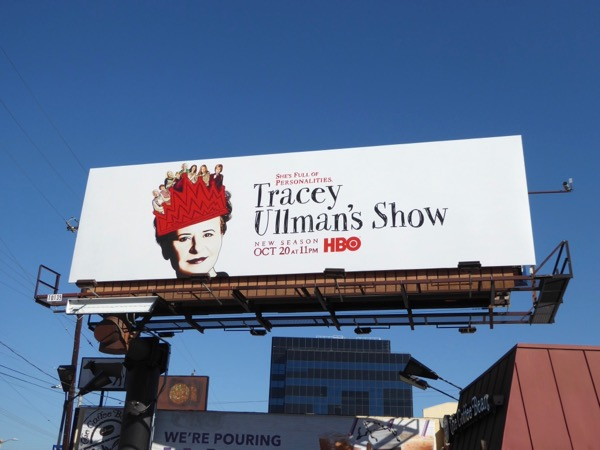 Tracey Ullmans Show season 2 HBO billboard