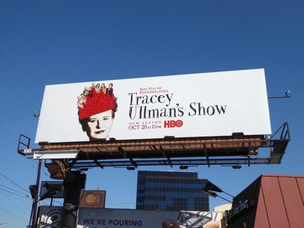 Tracey Ullmans Show season 2 HBO billboard