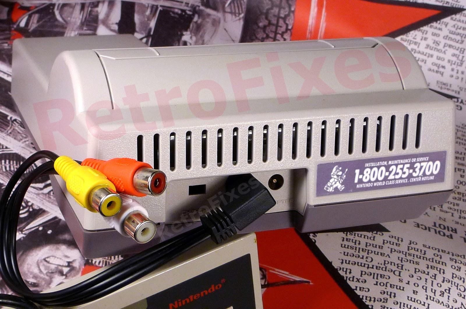 NES Composite Options 3D Printed Ports & More  | RetroFixes