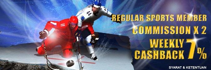 promo sports regular
