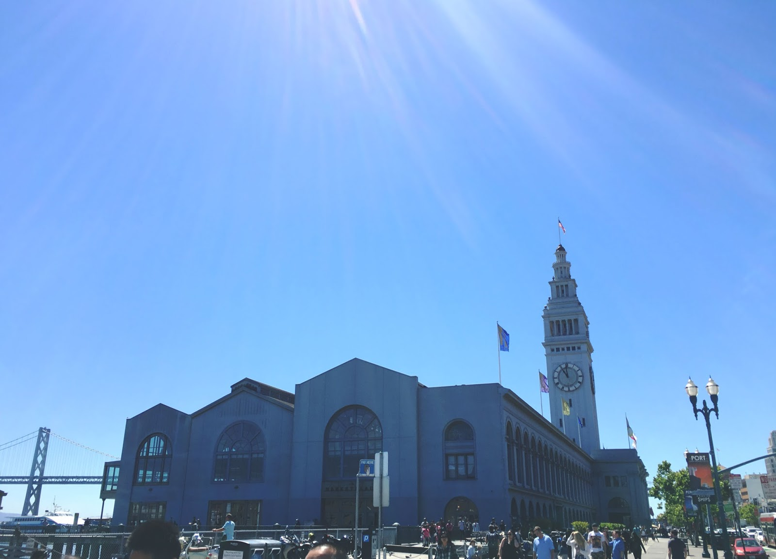 Ferry Building in San Francisco, California