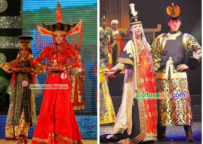 Vestidos de noiva mongólia