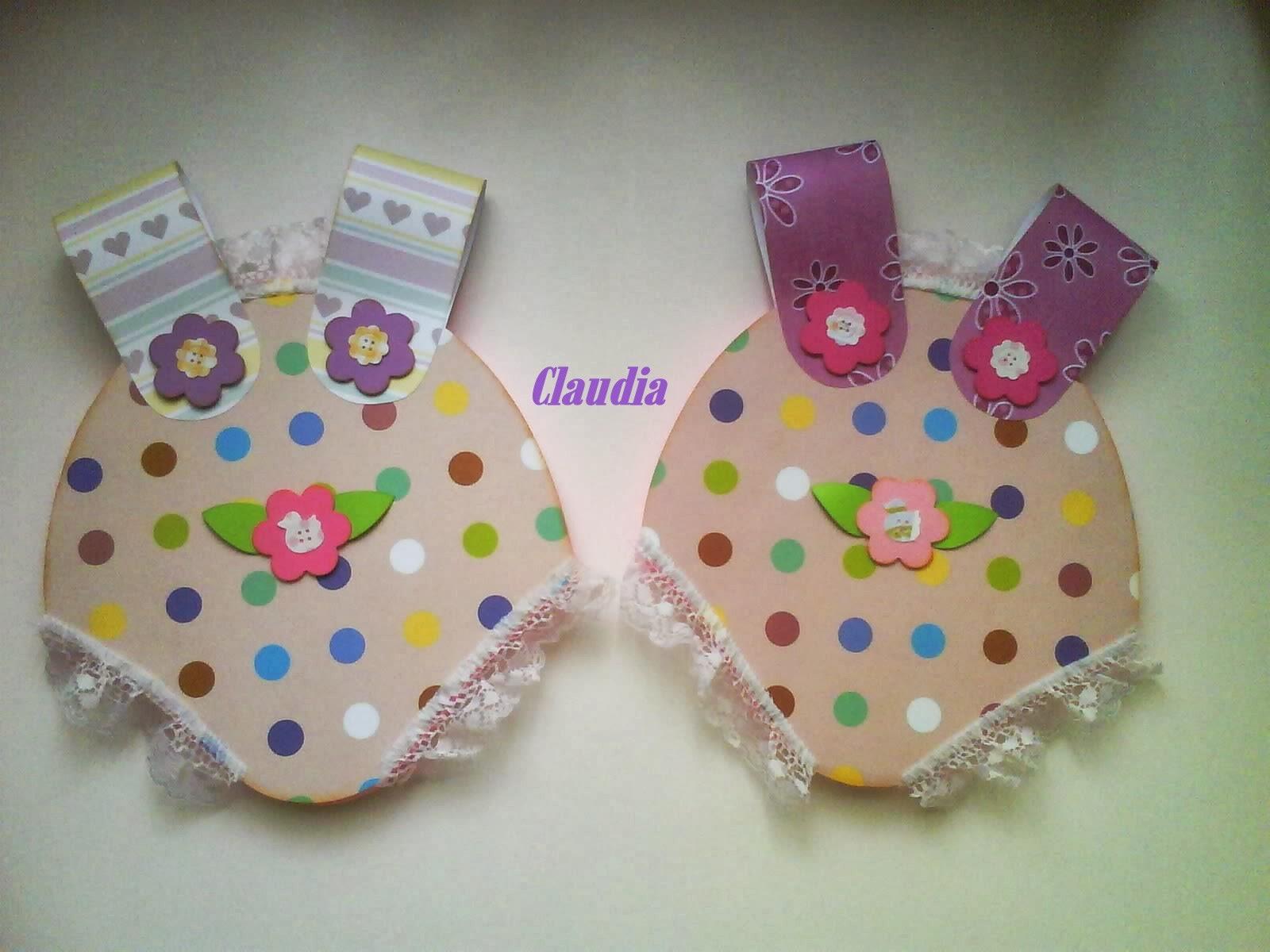 lindas manualidades Tarjetas para Baby shower