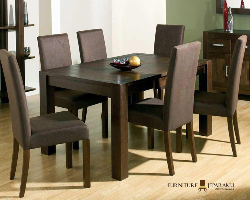 gambar meja makan minimalis model terbaru