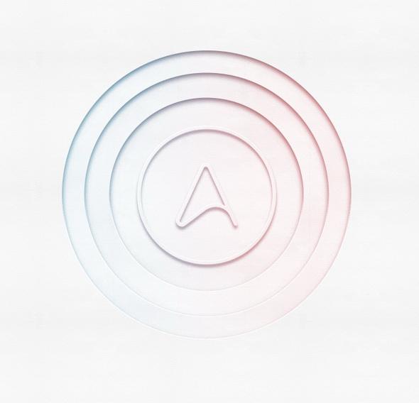 Эффект вырезанных бумажных кругов в Фотошоп