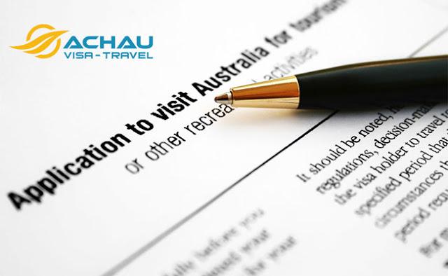Muốn xin visa du lịch Úc cho người thân bạn phải biết những thông tin này 2