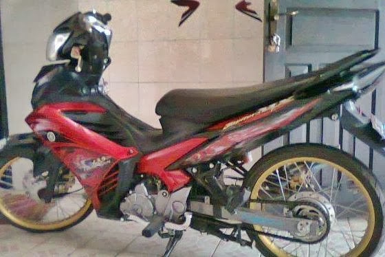 modifikasi motor drag jupiter mx