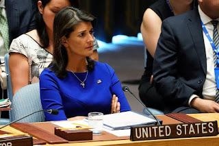 Haley: Hak Kembali Warga Palestina Harusnya Dihapus Dalam Perundingan
