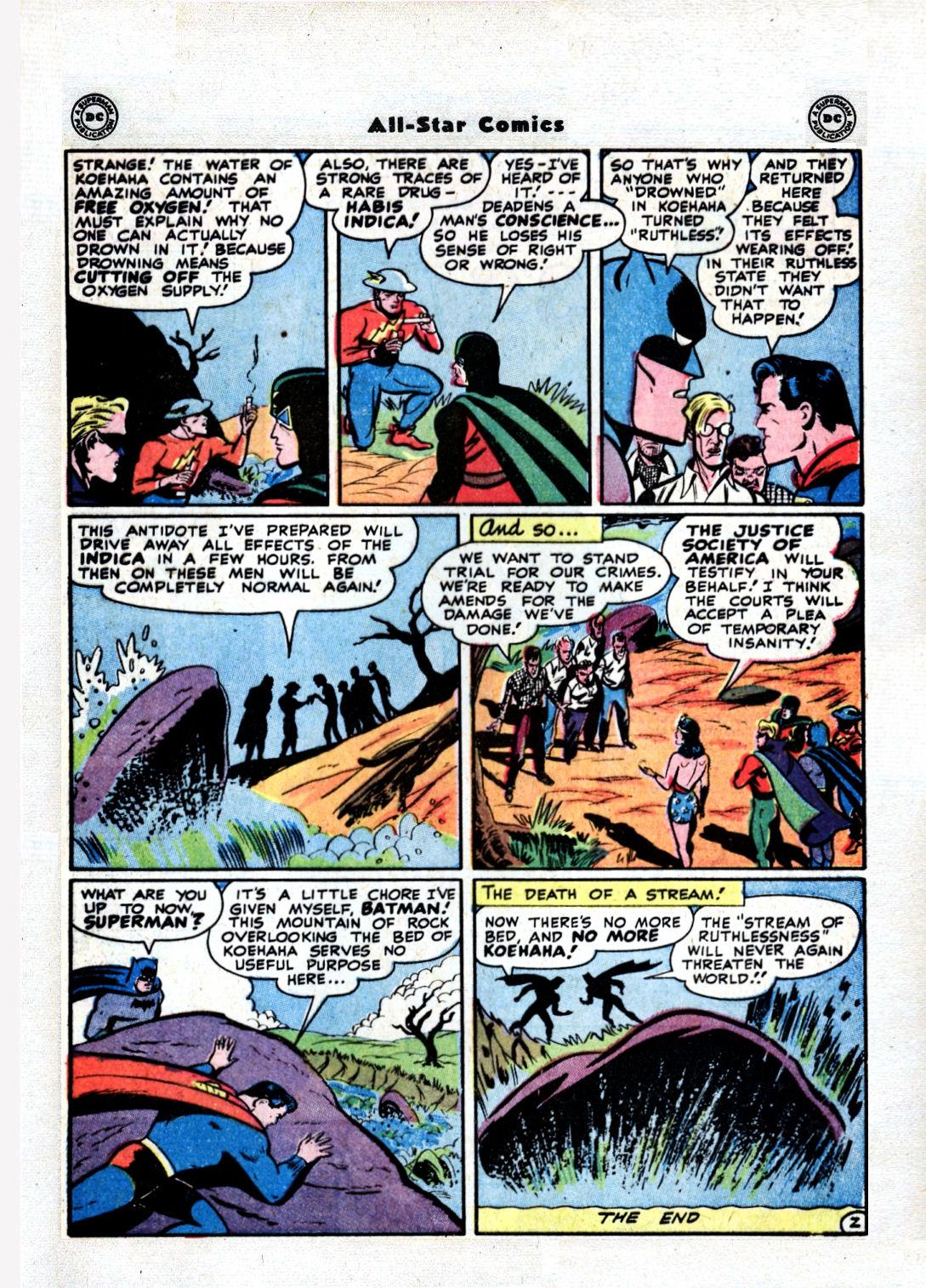 Read online All-Star Comics comic -  Issue #36 - 49