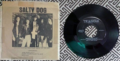 "Salty Dog single record ""Wandering Star"""