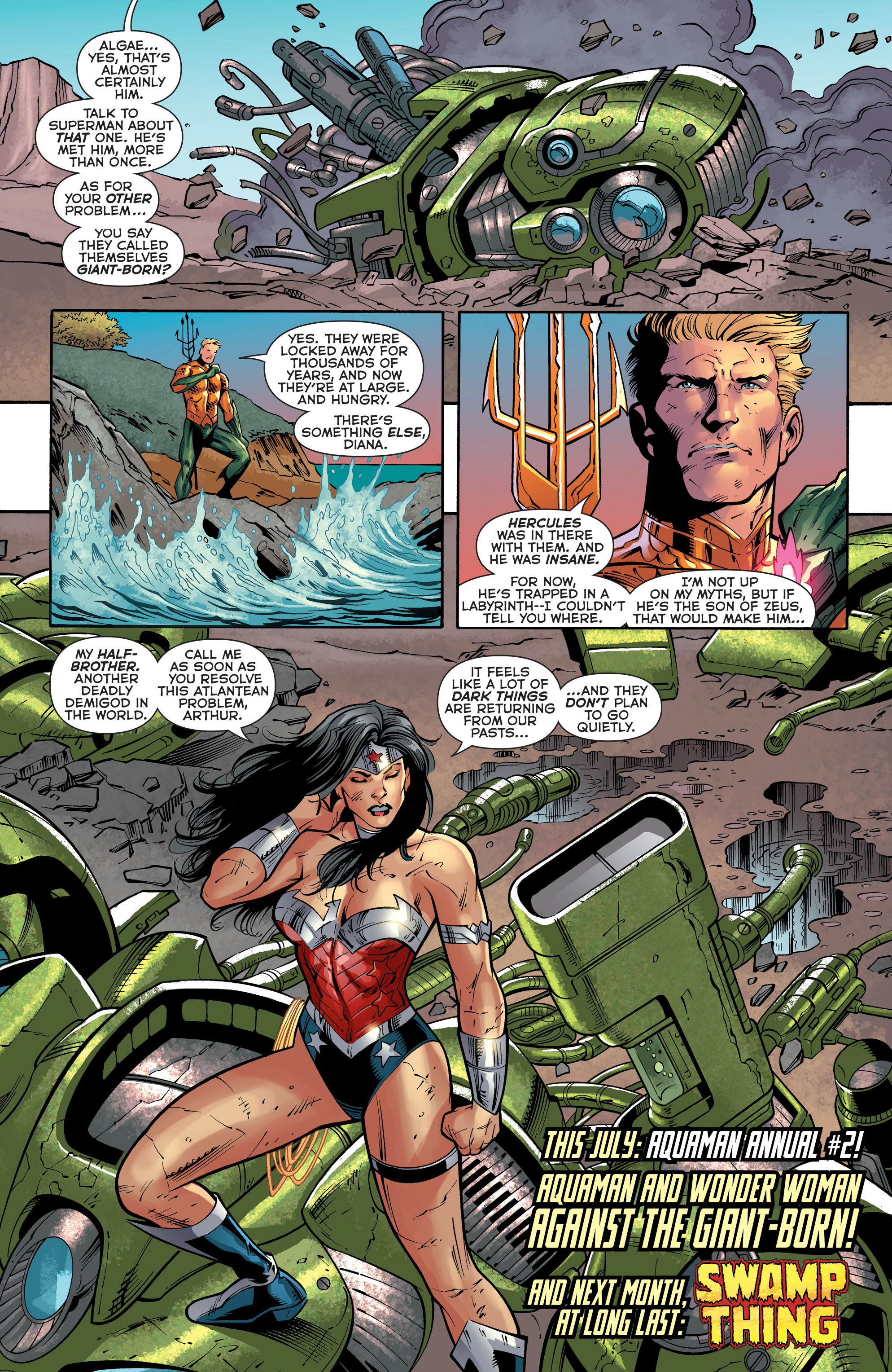 Read online Aquaman (2011) comic -  Issue #30 - 21