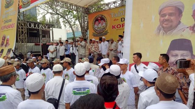 HRS Kenang Aksi 411 via Rekaman: Tenggelamkan Partai Pendukung Penista Agama