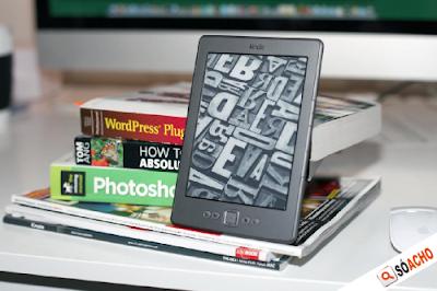 Kindle - leitor de livros digitais