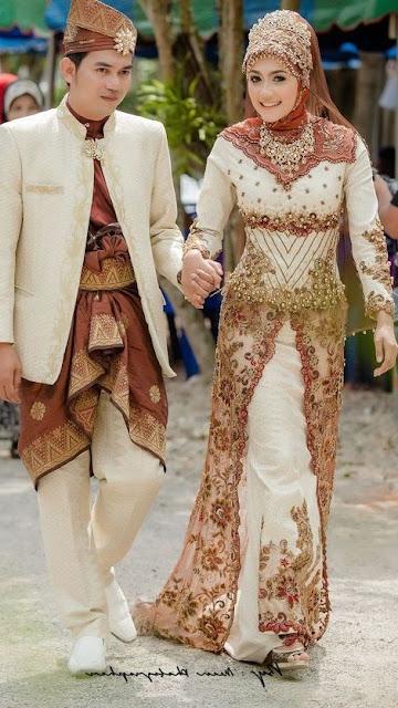 83 Model Kebaya Pengantin Resepsi Dan Akad Pernikahan Model Baju