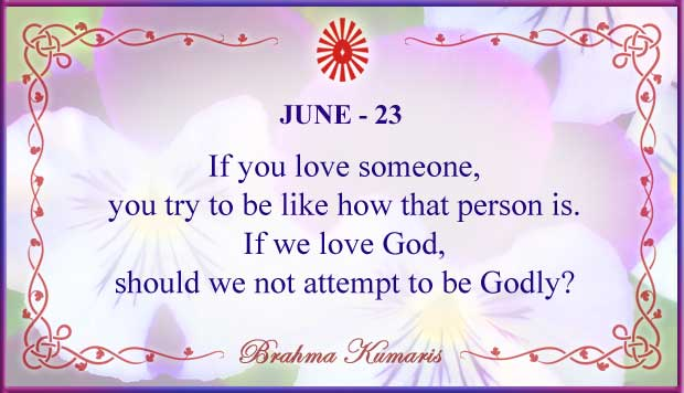 Thought For The Day June 23