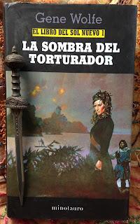Portada del libro La sombra del torturador, de Gene Wolfe
