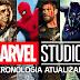 Assista em vídeo toda cronologia atualizada dos Studios Marvel  até 2018