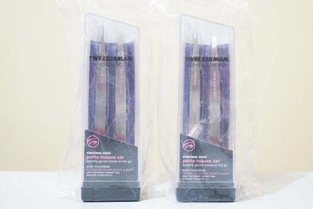 Tweezerman Petite Tweezer Set w/ Lavender Case