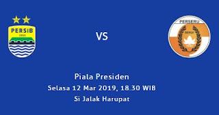 Susunan Pemain Persib Bandung vs Perseru Serui