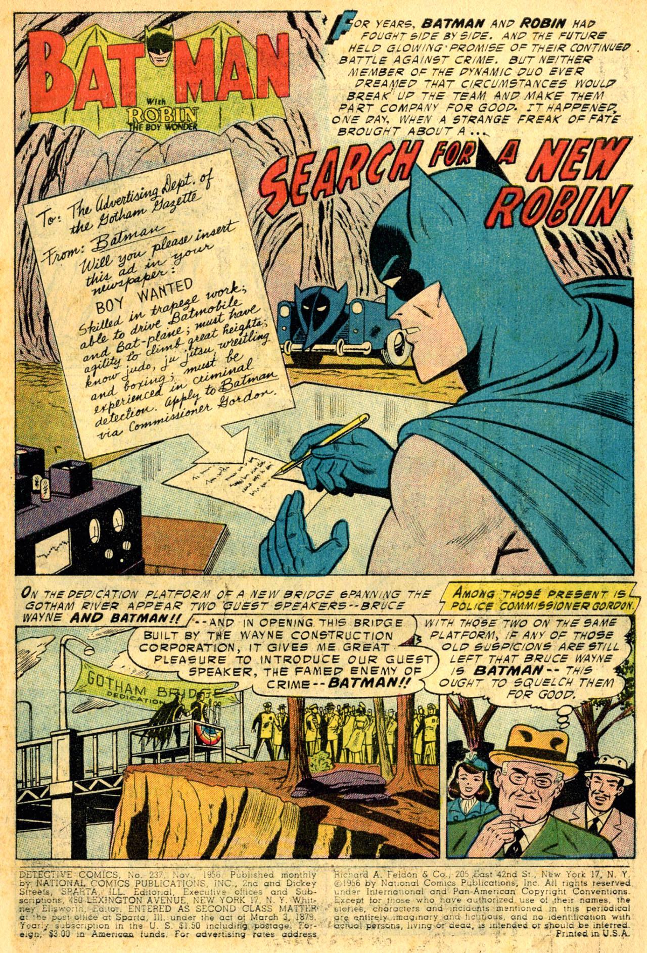 Detective Comics (1937) 237 Page 2