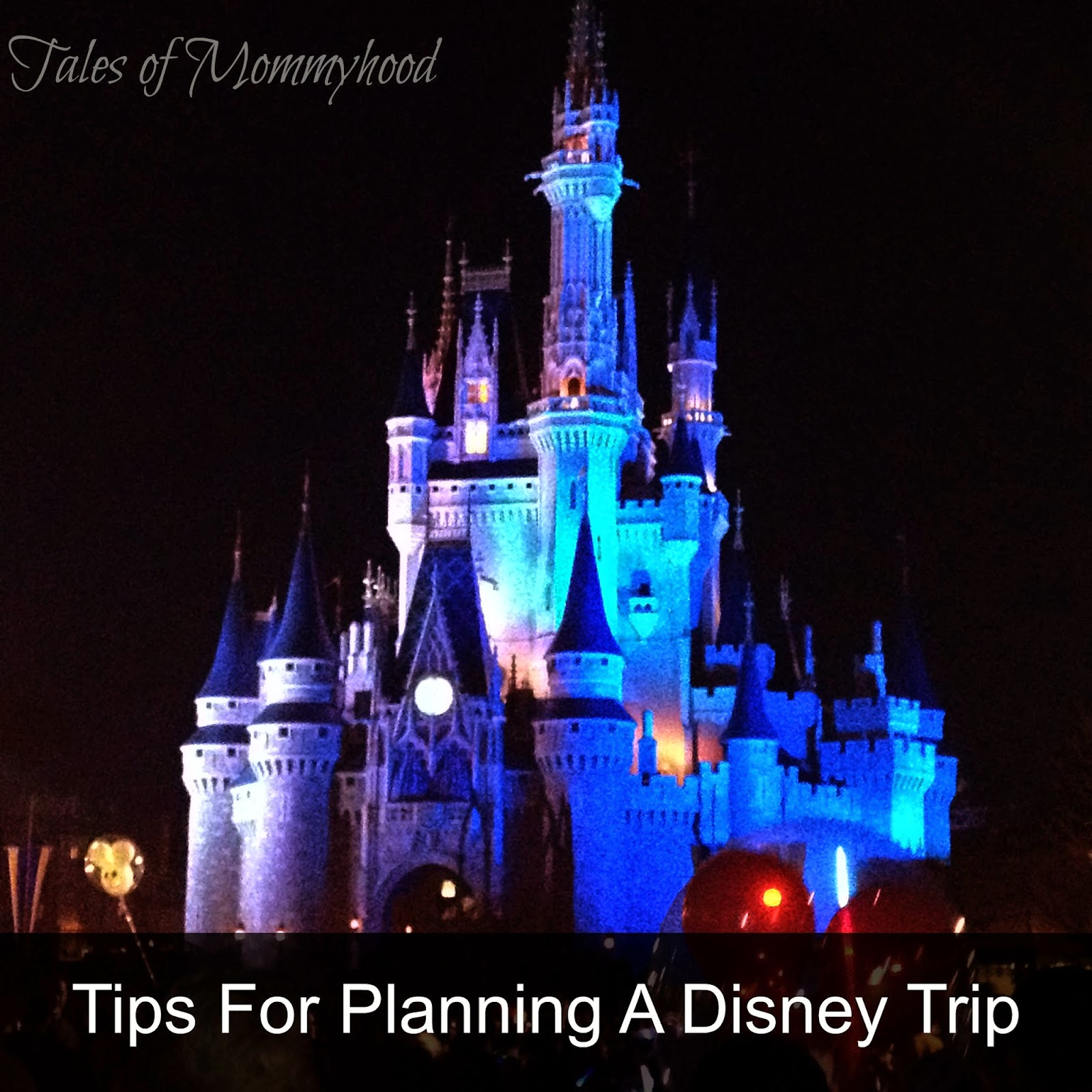 planning a disney vacation