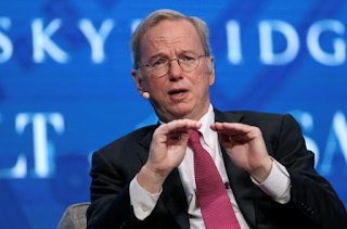 Eric Schmidt's surprise Alphabet announcement rekindles 'womanizing' rumors