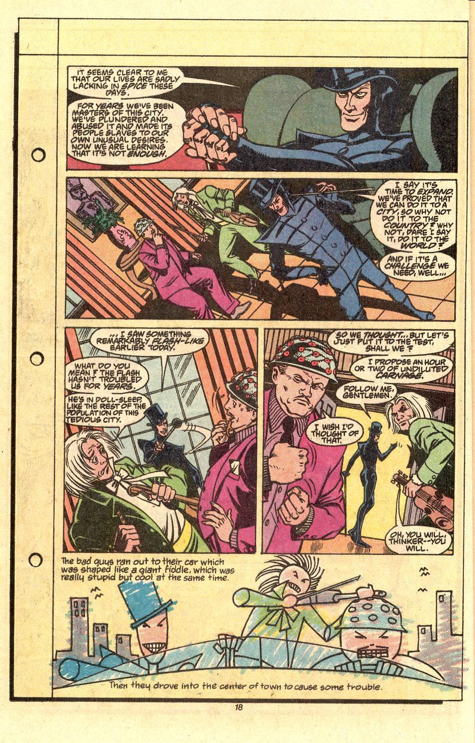Read online Secret Origins (1986) comic -  Issue #50 - 20