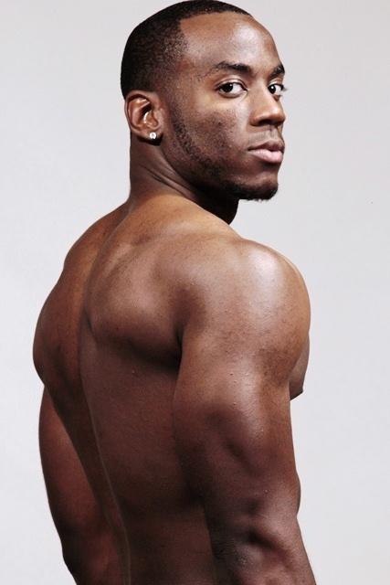 Black Nude Male Athletes