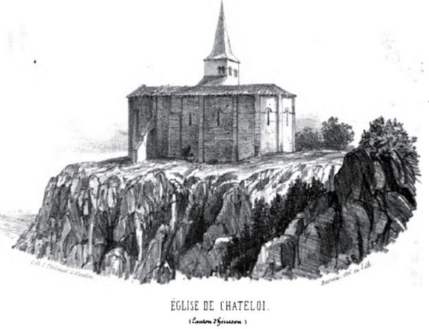 patrimoine de l'Allier église de Chateloi