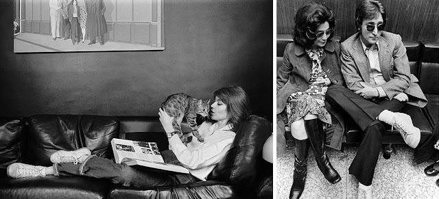 Iconos como Jane Birkin o John Lennon ayudaron a popularizar las sneakers court