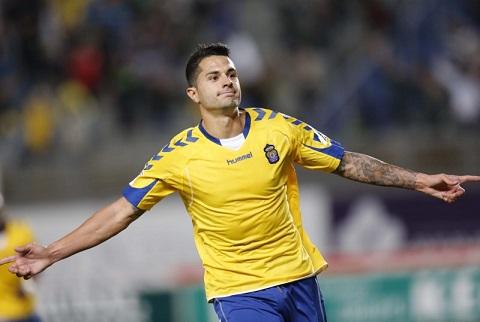 Do Atletico dính án cấm chuyển nhượng nên Vitolo phải thi đấu cho Las Palmas