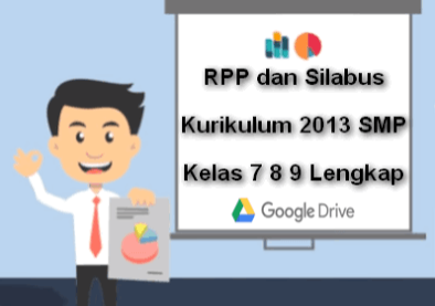 RPP dan Silabus Kurikulum 2013 SMP Kelas 7 8 9 Lengkap Terbaru