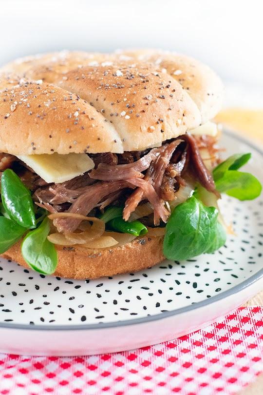 recette Burger au canard confit