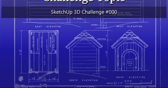 Sketchup 3d Challenge Sketchup 3d Challenge 000
