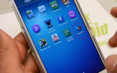 aplikasi telah terpasang di smartphone android