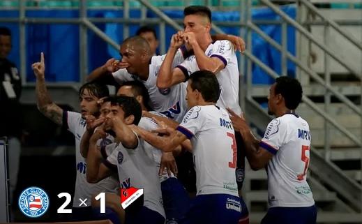 Bahia vence o Flamengo de Guanambi