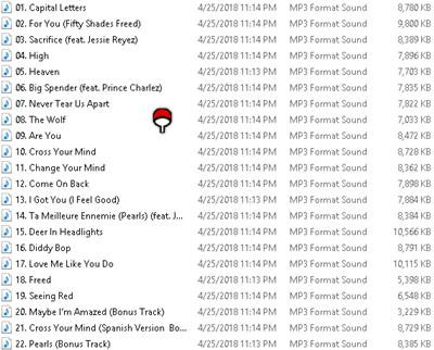 Download Various Artist - OST. Fifty Shades Freed (2018) Mp3 320Kbps Free Full Album Zip Rar HD