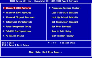Pengertian, fungsi, cara akses, konfigurasi dan cara kerja BIOS