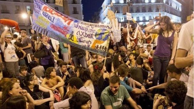 Maandamano ya Kupinga Kujitenga kwa Catalonia Kufanyika