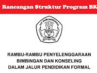 Rancangan Struktur Penyelenggaraan Bimbingan dan Konseling (BK) di Sekolah
