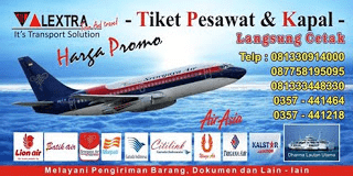 ALEXTRA It's Transport Solution » Tour & Travel » Tiket Pesawat Dan Kapal