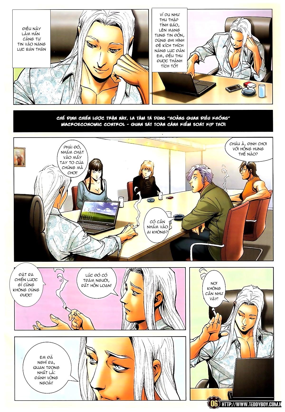 Người Trong Giang Hồ chapter 1703: lịch sử trùng diễn 4 trang 4