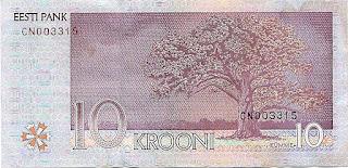 10 эстонских крон