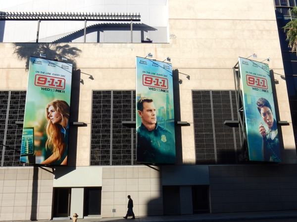 9-1-1 TV series billboards