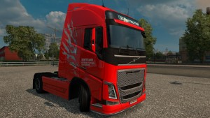 Dimitrans Skin for Volvo FH 2012