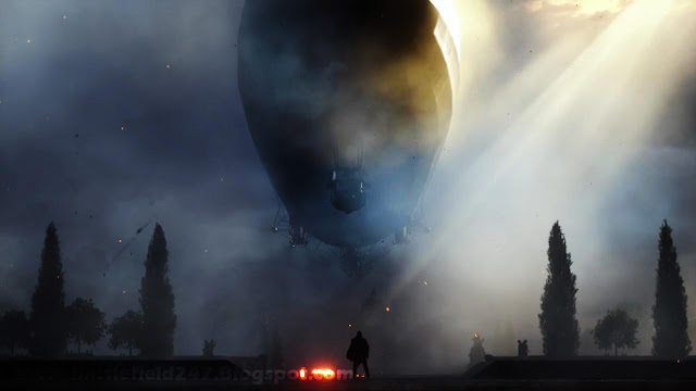 Battlefield 1 WW1 Zeppelin