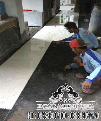 pasang lantai marmer